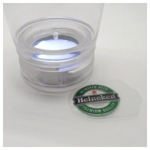 LED Light Cup Base Logo