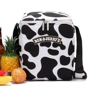 Black White themed Cooler Bag