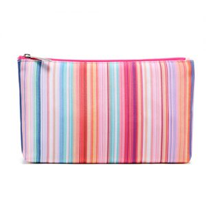Brightly coloured miscellaneous pouch