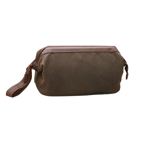 PU Leather Toiletries Pouch