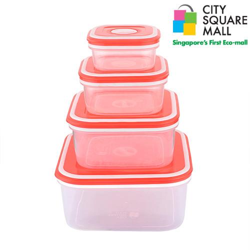 4 in 1 Squarish container