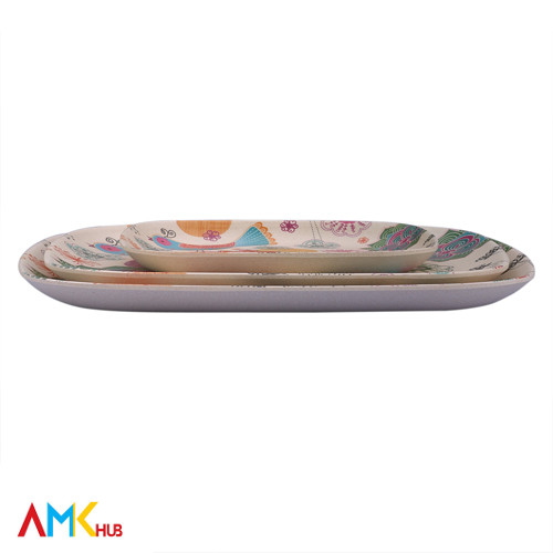 Wheat Plates - 3 Pcs Set