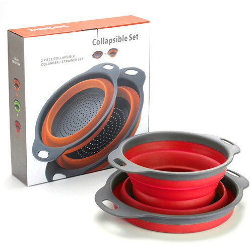 Sierra Collapsible bowl 2pcs Set