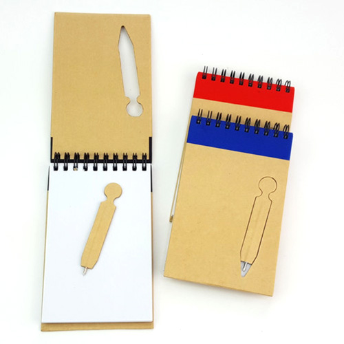 Recycled Notebook with Ballpen