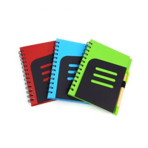 Wesley Eco Notebook with Pen