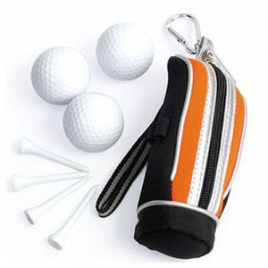 Golf Pouch with Tees