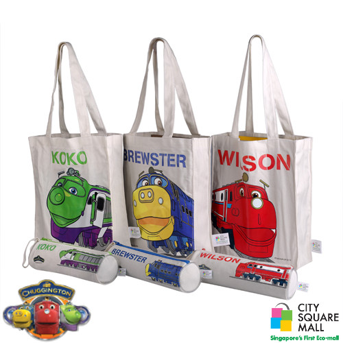 City Square Tote Bag