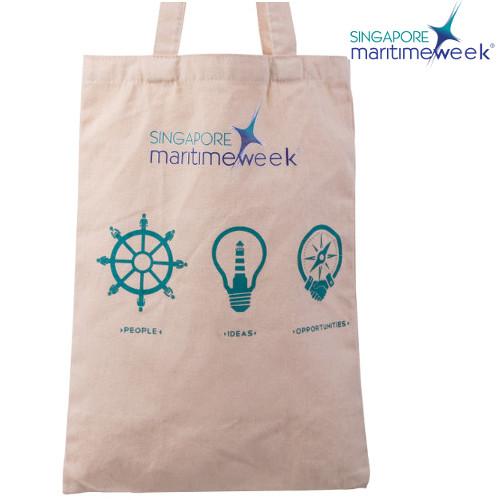 Singapore Marinetime Tote Bag