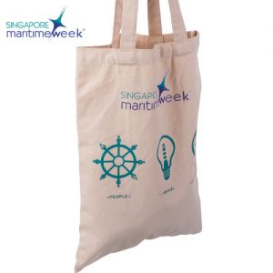 Singapore Marinetime Tote Bag