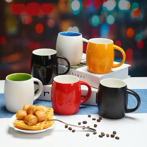 printed barrel mug Singapore