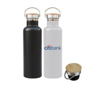 Stainless Steel bamboo lid thermal flask