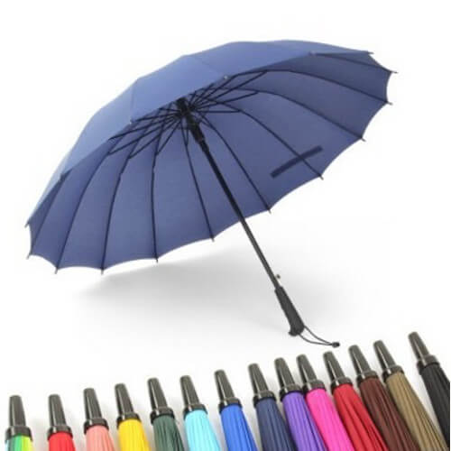 Japanese style straight promotional umbrella