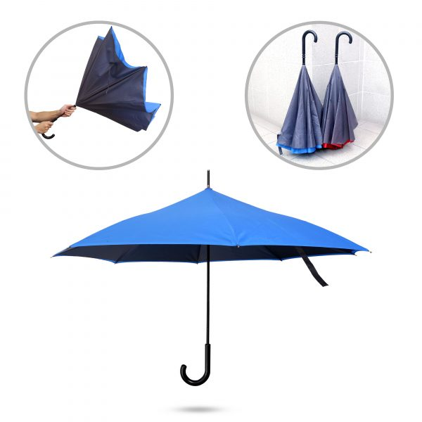 Inverted umbrella printing