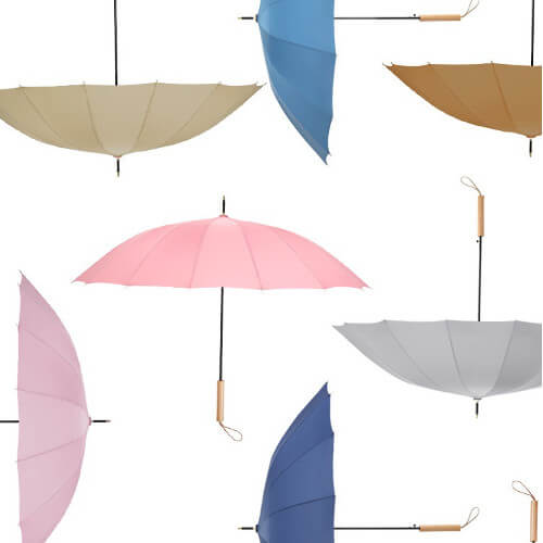 Wooden Straight umbrella wholesale supplier