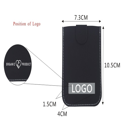 PU card holder with RFID protection in bulk purchase price