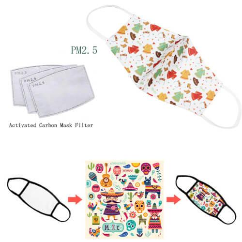 Washable custom mask printing wholesale supplier singapore wholesale
