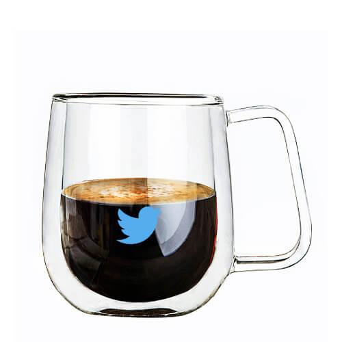 double wall glass mug printing singapore