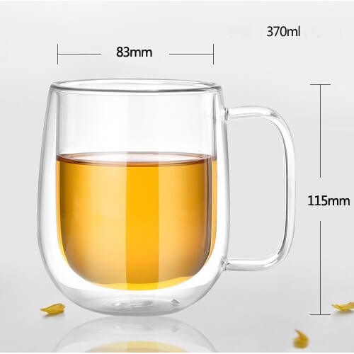 cheap double wall coffee mug for singapore market