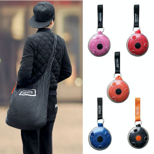 creative and funky foldable grocery shopping bag