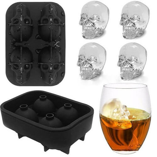 funky silicone ice cube tray mold wholesale singapore