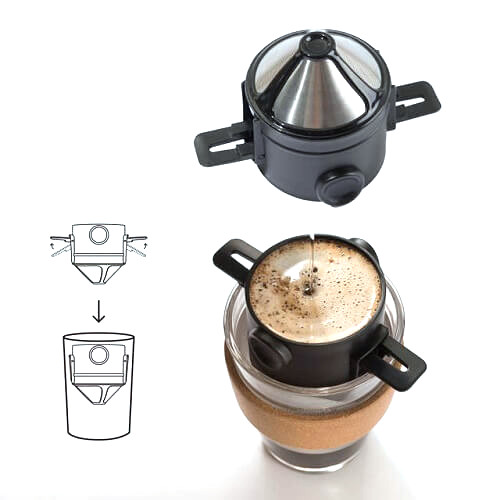 Portable Coffee Drip Filter Cup