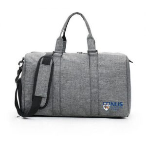 cheap gym sports bag with company logo printing singapore supplier