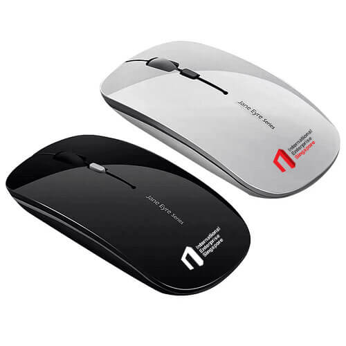 cheap printed rechargeable wireless bluetooth mouse singapore supplies