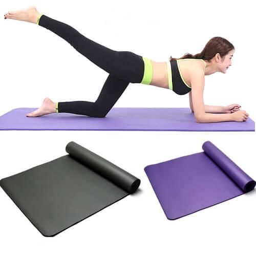 cheap custom logo printing of yoga mat singapore supplier