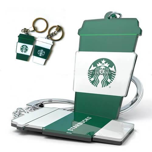 Cheap acrylic die cut promotional keychain Singapore Bulk purchase