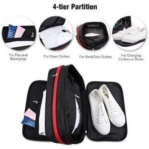 4 in 1 travel shoe toiletries bag singapore