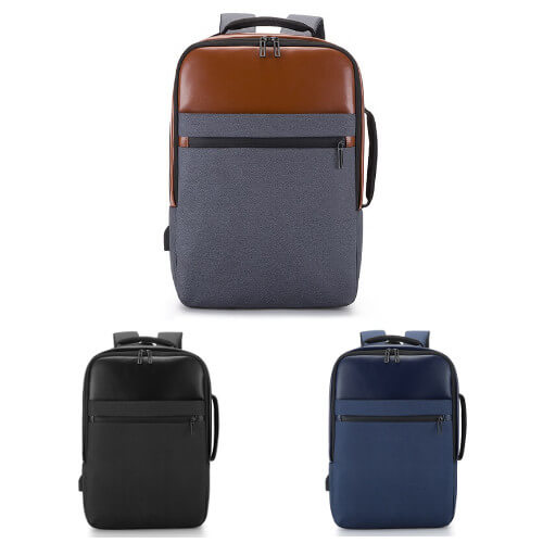custom backpack for business with laptop compartment
