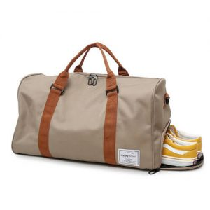 Singapore Custom Sports Duffle Bag with company logo print