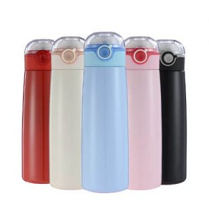 cheap thermal flask with company logo printing at bulk discount