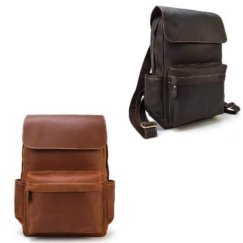 custom leather backpack singapore