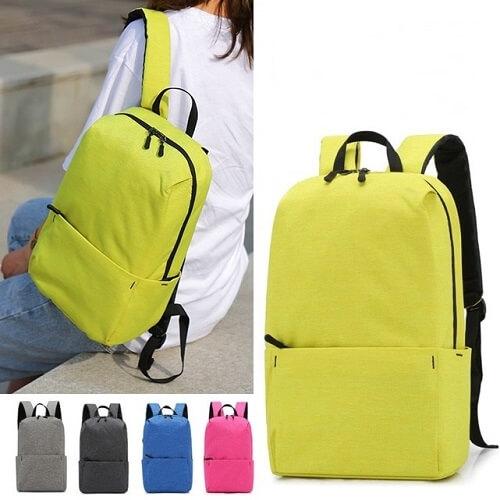 custom backpack with company logo print