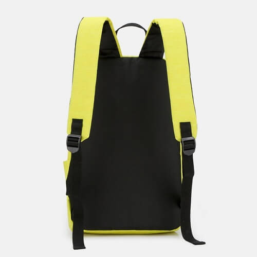 custom backpack with logo print