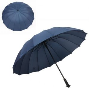 cheap corporate umbrella with custom company logo print wholesale