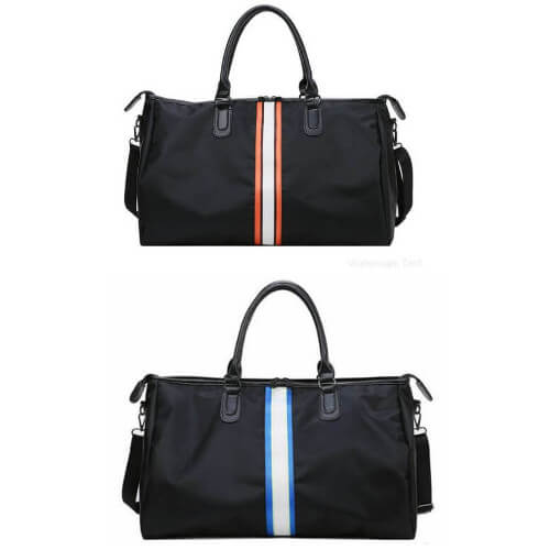cheap custom travel duffle bag with printing wholesaler singapore