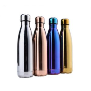 budget gold electroplated stainless steel bottle in singapore