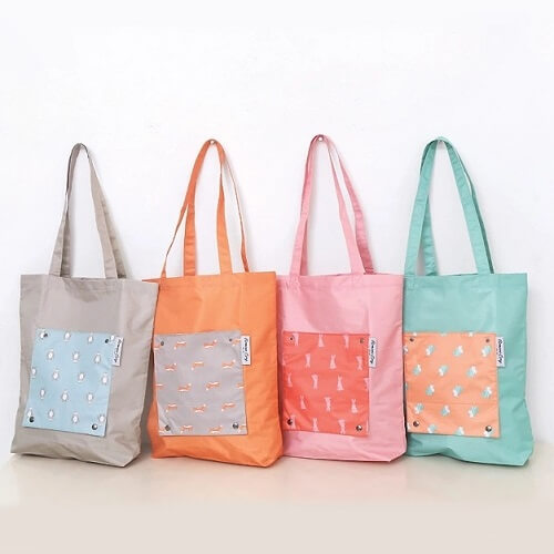 Custom Print tote bag with logo print