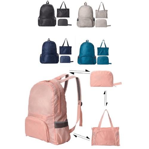 Custom Dual-Purpose Tote cum Backpack