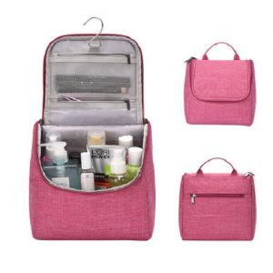 custom toiletries bag with logo imprint singapore