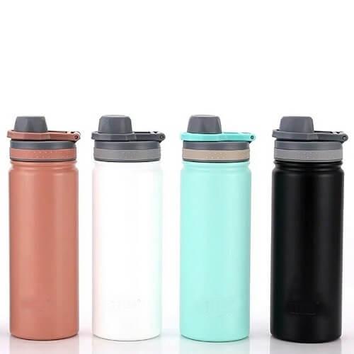custom thermal flask with logo print