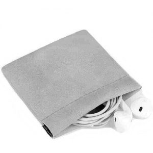 PU Leather Earbud Pouch