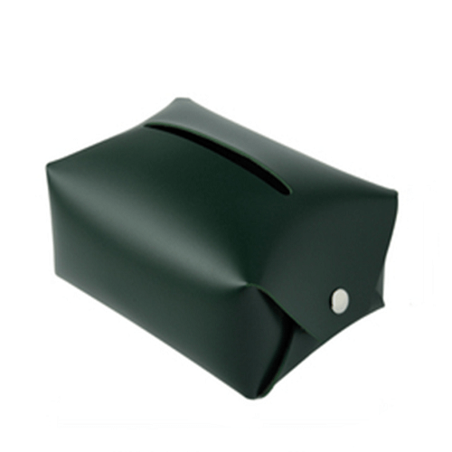 PU leather Tissue box holder