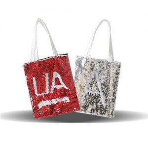Printable Sequin Custom Tote Bag