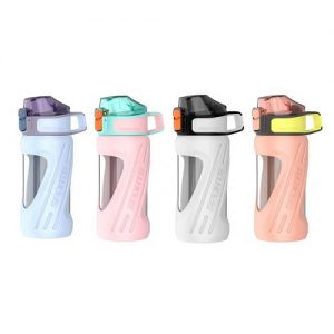custom sporty promotional water bottle with logo print