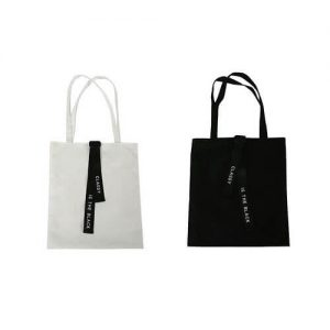 canvas customised tote bag