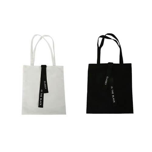 canvas customised tote bag