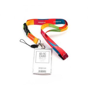 Customized Lanyard With Buckle